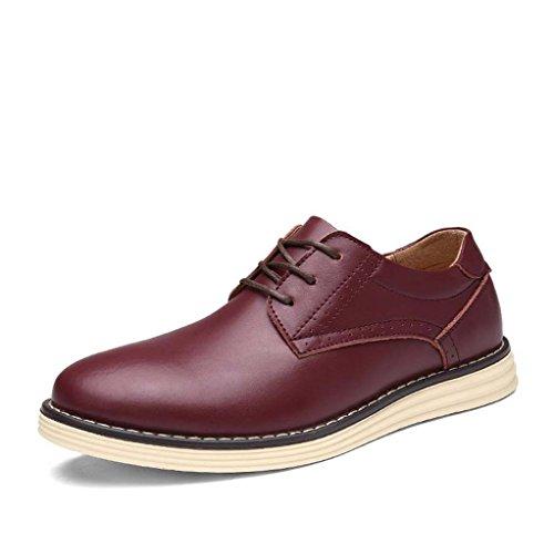 ZXCV Scarpe all'aperto Scarpe da uomo scarpe casual Vino rosso