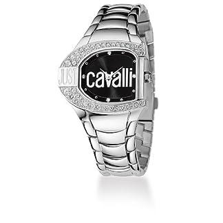 Just Cavalli R7253160525 – Reloj con Correa de Metal, para Mujer, Color Negro/Plateado