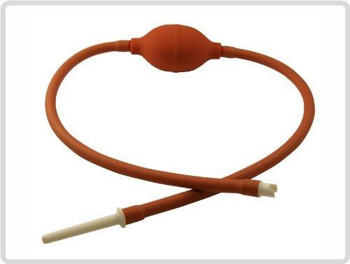 Klyso-Pumpe Klyso Klistier Einlauf Irrigator Analdusche Intimdusche Spülung mit Schlauch 65cm *Top-Qualität zum Top-Preis*