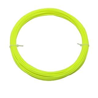 AptoFun PLA Filament in fluoreszierend Gelb /fluorescent Yellow (1,75mm, 25g, 190°C - 220°C) mit Premium Qualität für 3D Drucker MakerBot RepRap MakerGear Ultimaker uvm/ auch für 3D-Stifte