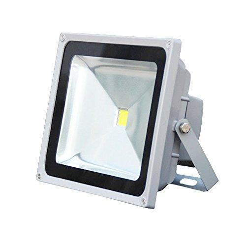 JAYLONG Flut-Licht 10W-150W LED, Wasserdichtes IP65, 15000Lm, Super Helle LED-Flut-Lichter Im Freien Für Spielplatz, Garage, Garten, Rasen Und Yard-Modell,10W