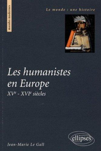 L'Europe des humanistes