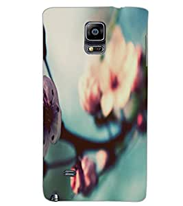 SAMSUNG GALAXY NOTE EDGE FLOWER Back Cover by PRINTSWAG