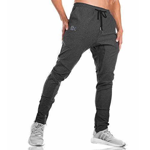 BROKIG Mens Gym Joggers Sweatpan...