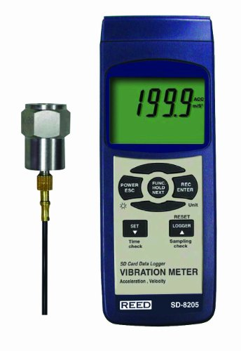 REED Instruments SD-8205 Schwingungsmesser Datenlogger