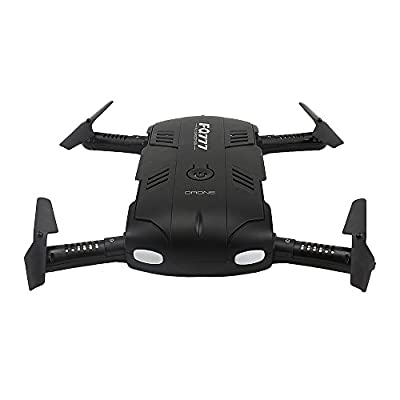 ECLEAR Mini RC Dual Drone BNF Quadcopter Foldable Small Airplane For Adult Kids Aerial Photography Racing