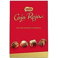 Nestlé Caja Roja Bombones de Chocolate - Bolsa de bombones 100 gr