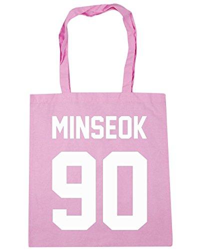 hippowarehouse-damen-strandtasche-gr-einheitsgrosse-rosa