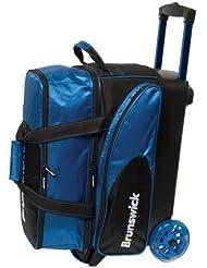Brunswick Flash C Double Roller Bag, Royal by Brunswick