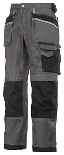 Snickers Workwear Arbeit – pantoloni, rot, 32121604158 mutedblack-schwarz