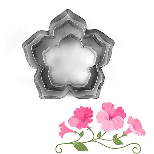 Preisvergleich Produktbild Youpin Kuchen verziert Fondant Sugarschneider Werkzeuge 3 Stück / Set Winde Form