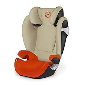 Cybex Gold Solution M, Autositz Gruppe 2/3 (15-36 kg), Kollektion 2016, Autumn Gold, ohne Isofix