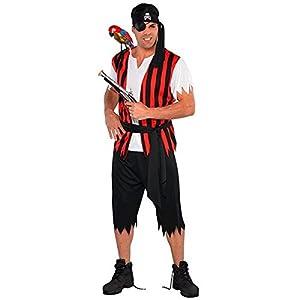 Adultos Amscan internacionales Ahoy Matey Pirate Costume