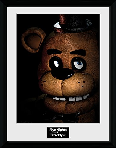 GB eye Five Nights At Freddys, Fazbear Framed Print, Multi-Colour, 30 x 40 cm