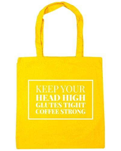hippowarehouse-mantener-la-cabeza-alta-gluteos-tight-cafe-fuerte-tote-compras-bolsa-de-playa-42-cm-x