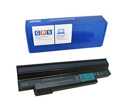 Gateway Lt21 (GRS Notebook Akku für Acer Aspire one 532h all, 253h NAV 50, Gateway LT21, ersetzt: UM09H31, UM09H36, UM09H41, UM09G31, UM09H56, UM09H70, UM09H73, UM09H75, Laptop Batterie, 6600mAh 10,8V)