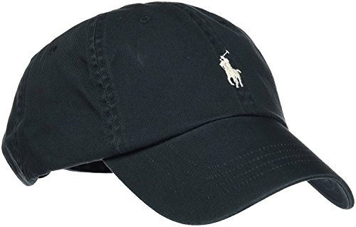 Polo Ralph Lauren Herren Baseball Cap One Size, Schwarz One Size