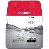 Canon 2X Pixma MX870 Tintenpatronen, groß, Originalprodukt, Schwarz, 2Stück