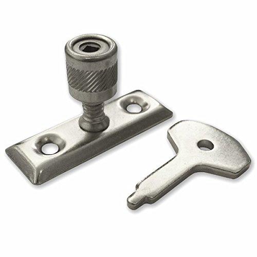 Bulk Hardware bh03441BZP Stay Schloss und Schlüssel, 2Stück