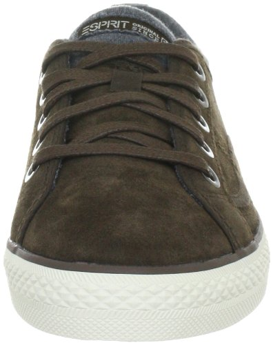 ESPRIT Kisha Lace Up G13040, Baskets mode femme Marron (Braun)