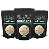 The Healthy Cravings Co Crunchy Roasted Makhana Minty Zest (180g) - 3 Packs