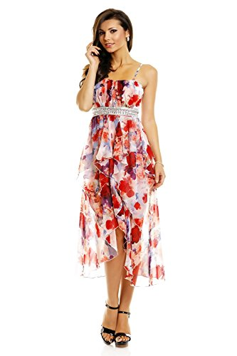 Fashion - Robe - Femme Multicolore - Rot Mix