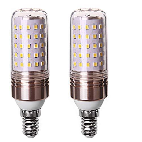 LED E14 Glühbirne 16W 1253LM ersetzt 120W, 6000K Kaltweiß, nicht dimmbar, Kleine Edison-Schraube Kerze Leuchtmittel 2er-Pack