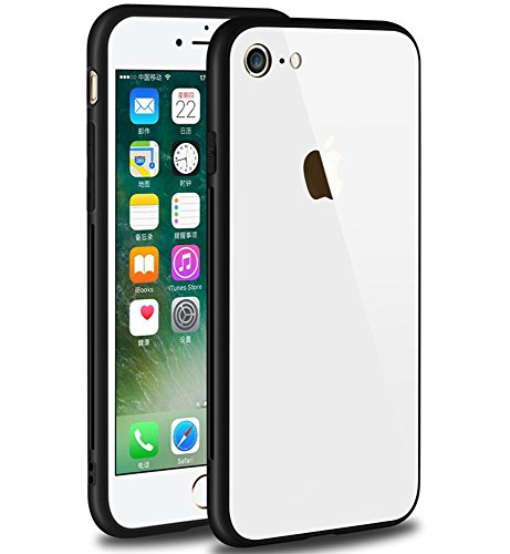 MIMOB Glass Back Cover for Apple iPhone 5/5S White