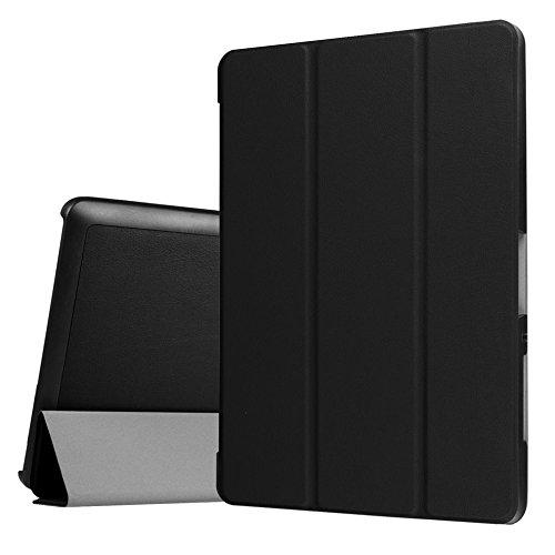 Hülle für Acer Iconia Tab 10 A3-A40 / B3-A30 One 10 10.1 Zoll Schutzhülle Etui Tablet Tasche Smart Cover (Schwarz)