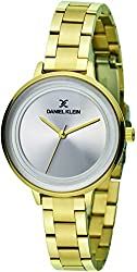 Daniel Klein Analog Silver Dial Womens Watch-DK11373-2