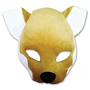 Plush Animal Mask with Sound - Fox (máscara/careta)