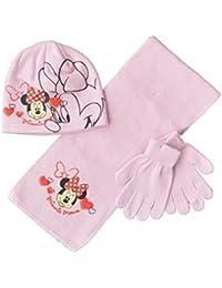 Minnie - Set de bufanda, gorro y guantes - para niña