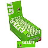 50 libritos de papel de fumar liar Gizeh.superfino tamaño corto 70mms-