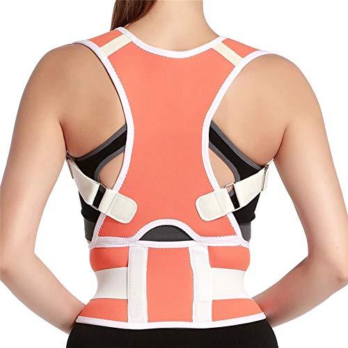 Erwachsene Rücken Korsett Körperhaltung Korrektor Rücken Schulter Lendenwirbelsäule Hosenträger Stützgürtel Rückenstütze für Männer Frauen