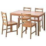 Unbekannt IKEA FINEDE Tisch und 4 Stühle, Bambus