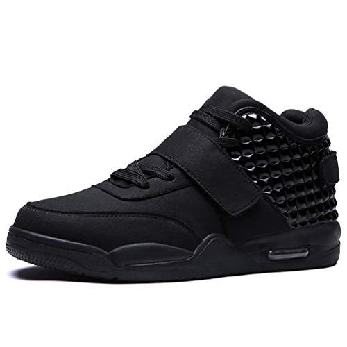 Männer Basketball Schuhe hohe Top-Polster athletische Sneakers Stiefel Männer Sport Trainer