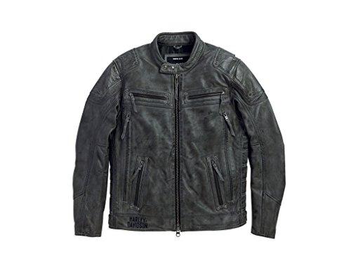 Preisvergleich Produktbild Harley-Davidson Men's Carboy Herren Lederjacke 97105-16VM,  L