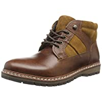 Red Tape Mens Huxley Wood Casual Boot