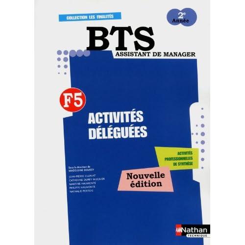 ACTIVITES DELEGUEES F5 BTS 2