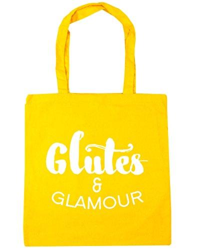 hippowarehouse-damen-strandtasche-gr-einheitsgrosse-gelb