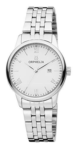 Orphelia Damen-Armbanduhr The Minimalist Analog Quarz Edelstahl