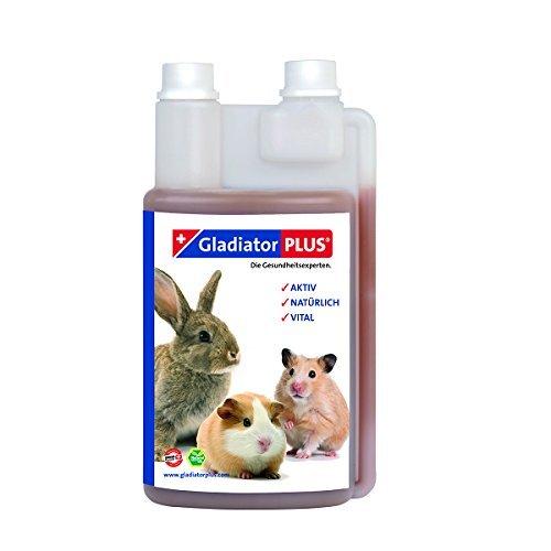 Gladiator Plus für Kleintiere 500ml Wertvolle Futterergänzung ohne künstliche Zusätze