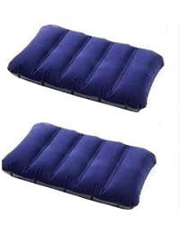 Babar SET OF 2 INTEX Velvet Soft Air Inflatable Travel Pillow For Family,Children & Baby
