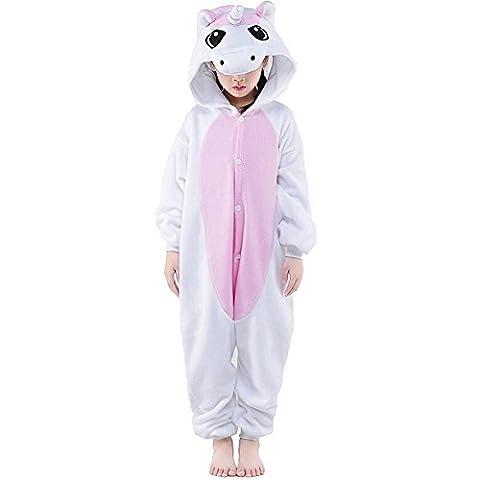 Meilleur Costume Pikachu - LATH.PIN Unisex Ensemble de Pyjama Combinaison de
