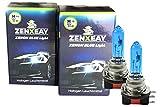 ZENXEAY H15 Xenon Optik Auto Lampe,Tagfahrlicht/Fernlicht, 55W 12V, Super White Vision Halogen Birne, 2 Stück