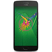 """Lenovo Moto G5 Plus smartphone, Dual SIM, 32GB, 5,2"""", 12 MP camera, Grigio lunare [versione Europa]"""