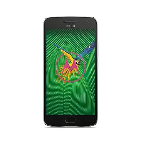 Motorola Moto G5 Plus Smartphone (13,2 cm (5,2 Zoll), 32 GB, Android) Lunar Grey