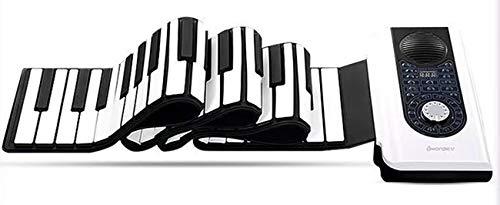 Faltbare Klavier, Tragbare 88 Tasten USB MIDI-Schnittstelle Lithium-Batterie Wiederaufladbare Version Für Geeignet Für Anfänger Senden Sie Ein Sustain-Pedal