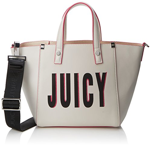Juicy by Juicy Couture - Arlington, Borse a mano Donna Bianco (White Juicy Print)