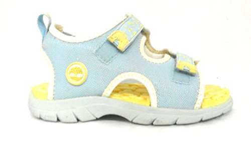 timberland toddler girls little harbour blue yellow uk 10 5
